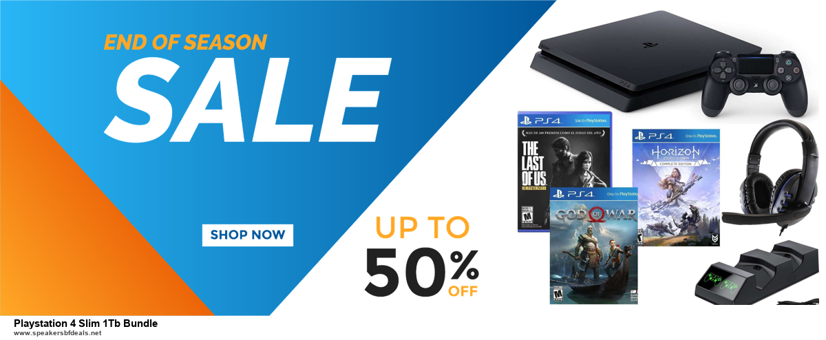 9 Best Black Friday and Cyber Monday Playstation 4 Slim 1Tb Bundle Deals 2020 [Up to 40% OFF]