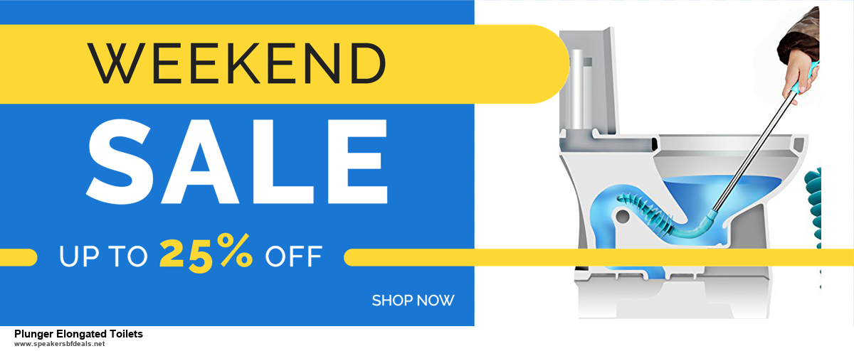 Top 11 Black Friday and Cyber Monday Plunger Elongated Toilets 2020 Deals Massive Discount