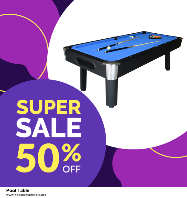 List of 6 Pool Table Black Friday 2020 and Cyber MondayDeals [Extra 50% Discount]