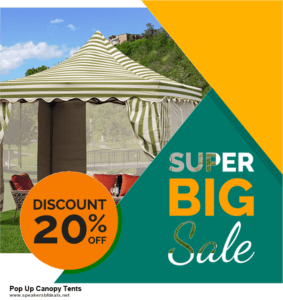 6 Best Pop Up Canopy Tents Black Friday 2020 and Cyber Monday Deals | Huge Discount