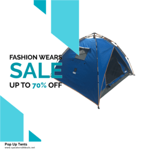 9 Best Black Friday and Cyber Monday Pop Up Tents Deals 2020 [Up to 40% OFF]