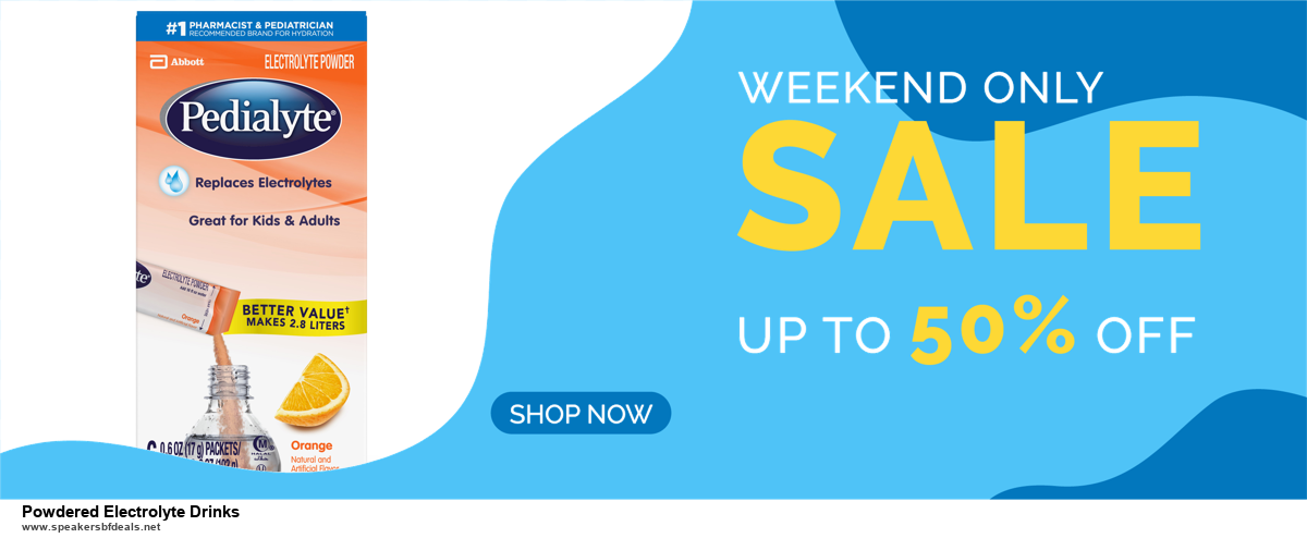 Top 5 Black Friday 2020 and Cyber Monday Powdered Electrolyte Drinks Deals [Grab Now]