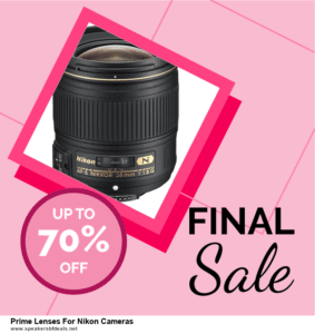 6 Best Prime Lenses For Nikon Cameras After Christmas Deals | Huge Discount