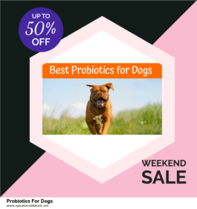 Grab 10 Best After Christmas Deals Probiotics For Dogs Deals & Sales
