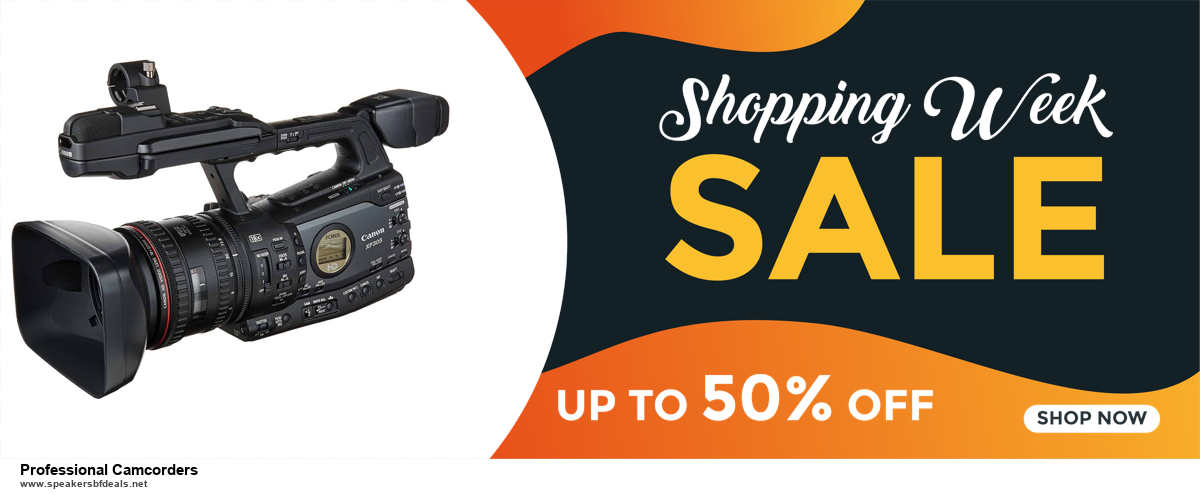 Top 10 Professional Camcorders Black Friday 2020 and Cyber Monday Deals