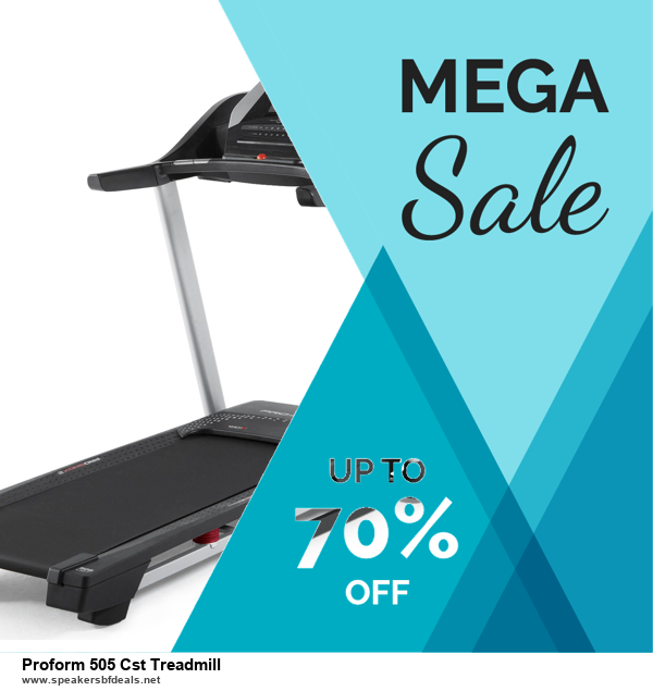 13 Exclusive Black Friday and Cyber Monday Proform 505 Cst Treadmill Deals 2020