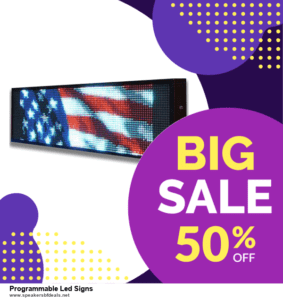 10 Best After Christmas Deals  Programmable Led Signs Deals   40% OFF