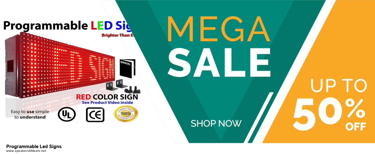 10 Best Black Friday 2020 and Cyber Monday Programmable Led Signs Deals   40% OFF