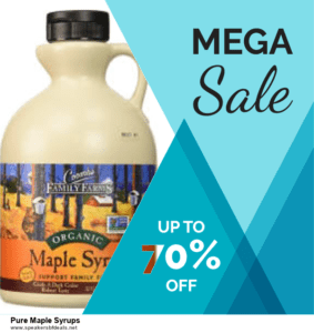 7 Best Pure Maple Syrups After Christmas Deals [Up to 30% Discount]