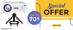 10 Best Black Friday 2020 and Cyber Monday Qkk Portable Led Projector Deals | 40% OFF