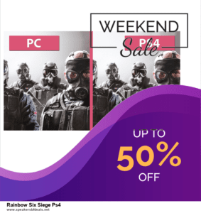 List of 10 Best Black Friday and Cyber Monday Rainbow Six Siege Ps4 Deals 2020