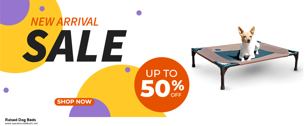 10 Best Black Friday 2020 and Cyber Monday Raised Dog Beds Deals | 40% OFF