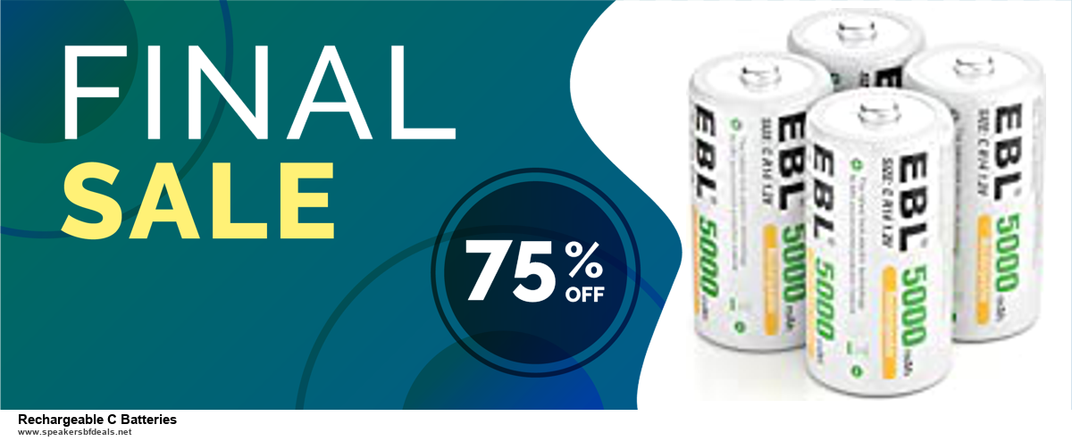 13 Exclusive Black Friday and Cyber Monday Rechargeable C Batteries Deals 2020