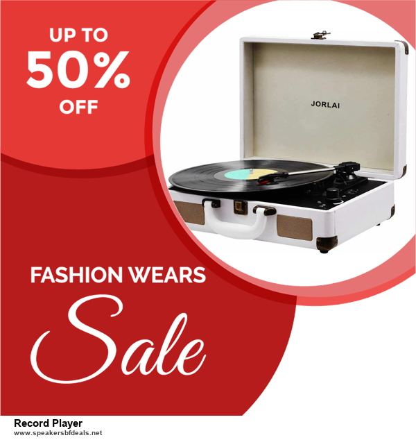 7 Best Record Player Black Friday 2020 and Cyber Monday Deals [Up to 30% Discount]