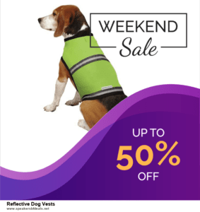 5 Best Reflective Dog Vests Black Friday 2020 and Cyber Monday Deals & Sales