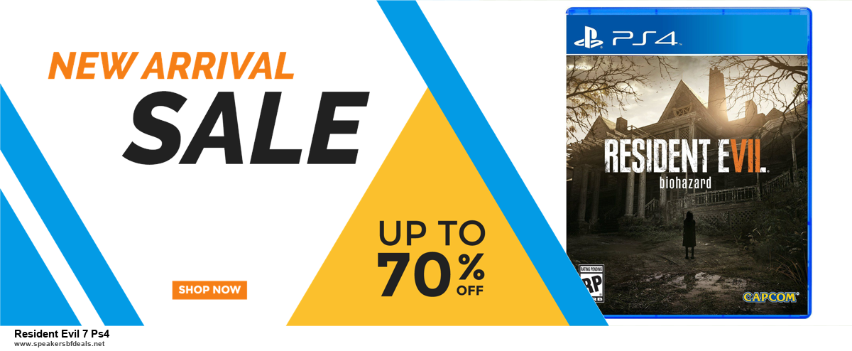 Top 11 Black Friday and Cyber Monday Resident Evil 7 Ps4 2020 Deals Massive Discount