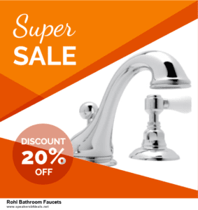 Top 5 Black Friday and Cyber Monday Rohl Bathroom Faucets Deals 2020 Buy Now