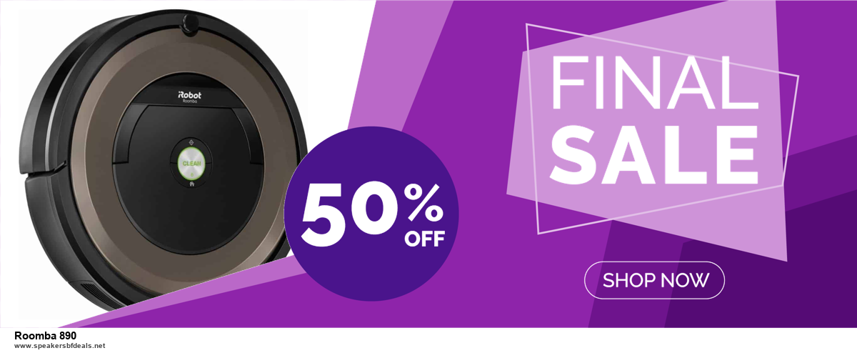 List of 6 Roomba 890 Black Friday 2020 and Cyber MondayDeals [Extra 50% Discount]