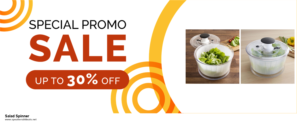 5 Best Salad Spinner Black Friday 2020 and Cyber Monday Deals & Sales