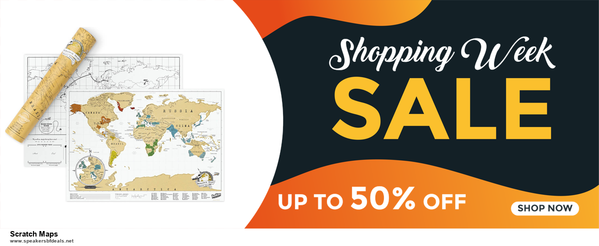 9 Best Scratch Maps Black Friday 2020 and Cyber Monday Deals Sales