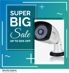 Top 10 Security Cameras Black Friday 2020 and Cyber Monday Deals