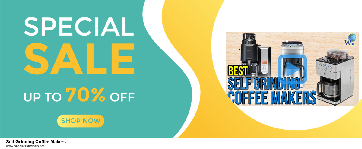 10 Best Black Friday 2020 and Cyber Monday Self Grinding Coffee Makers Deals | 40% OFF