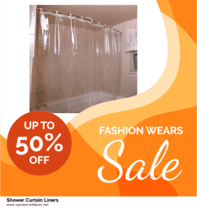 7 Best Shower Curtain Liners Black Friday 2020 and Cyber Monday Deals [Up to 30% Discount]