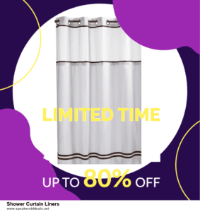 7 Best Shower Curtain Liners After Christmas Deals [Up to 30% Discount]