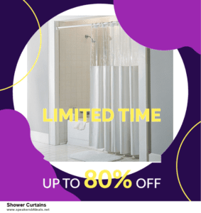 5 Best Shower Curtains Black Friday 2020 and Cyber Monday Deals & Sales