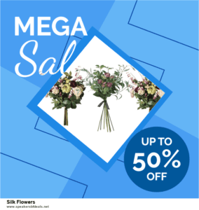 6 Best Silk Flowers After Christmas Deals | Huge Discount