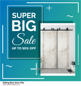 7 Best Sliding Barn Door Kits Black Friday 2020 and Cyber Monday Deals [Up to 30% Discount]