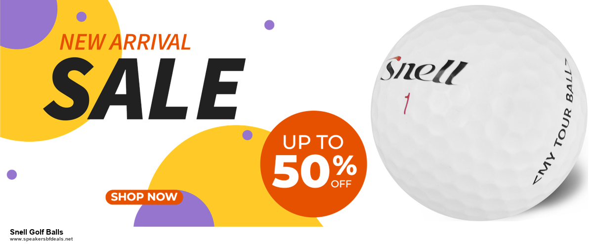 10 Best Black Friday 2020 and Cyber Monday Snell Golf Balls Deals | 40% OFF