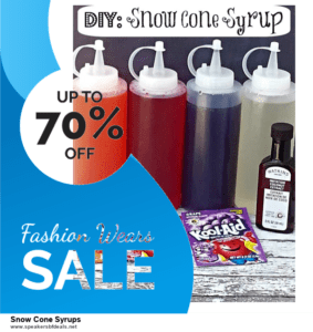 Top 11 Black Friday and Cyber Monday Snow Cone Syrups 2020 Deals Massive Discount