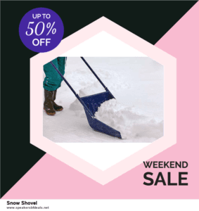 List of 6 Snow Shovel Black Friday 2020 and Cyber MondayDeals [Extra 50% Discount]