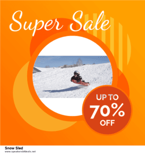 Top 5 Black Friday 2020 and Cyber Monday Snow Sled Deals [Grab Now]