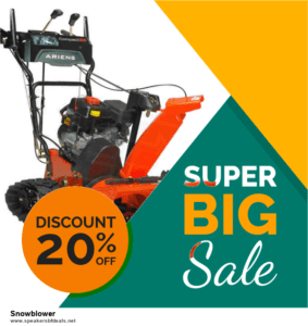 13 Exclusive Black Friday and Cyber Monday Snowblower Deals 2020