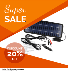 7 Best Solar Car Battery Chargers After Christmas Deals [Up to 30% Discount]