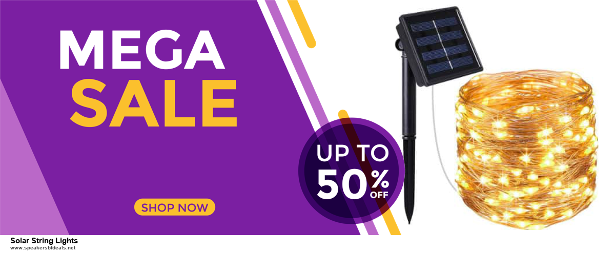 10 Best Black Friday 2020 and Cyber Monday Solar String Lights Deals   40% OFF