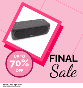 Top 5 After Christmas Deals Sony Xb30 Speaker Deals [Grab Now]
