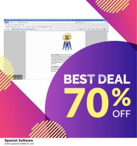 5 Best Spanish Software After Christmas Deals & Sales
