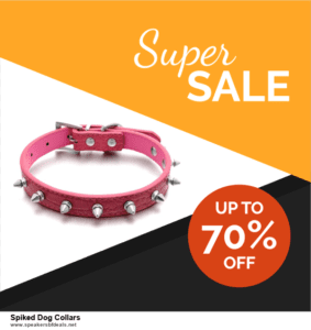 Top 10 Spiked Dog Collars After Christmas Deals