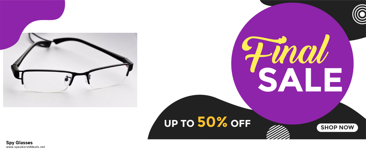 Top 5 Black Friday and Cyber Monday Spy Glasses Deals 2020 Buy Now