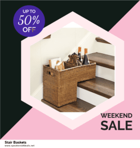 Top 5 Black Friday 2020 and Cyber Monday Stair Baskets Deals [Grab Now]