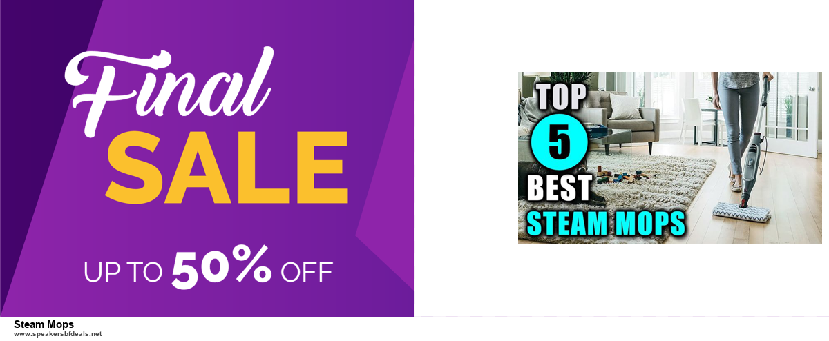 Top 5 Black Friday and Cyber Monday Steam Mops Deals 2020 Buy Now