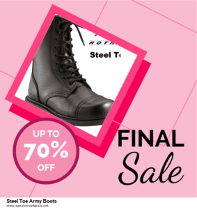 Top 10 Steel Toe Army Boots After Christmas Deals