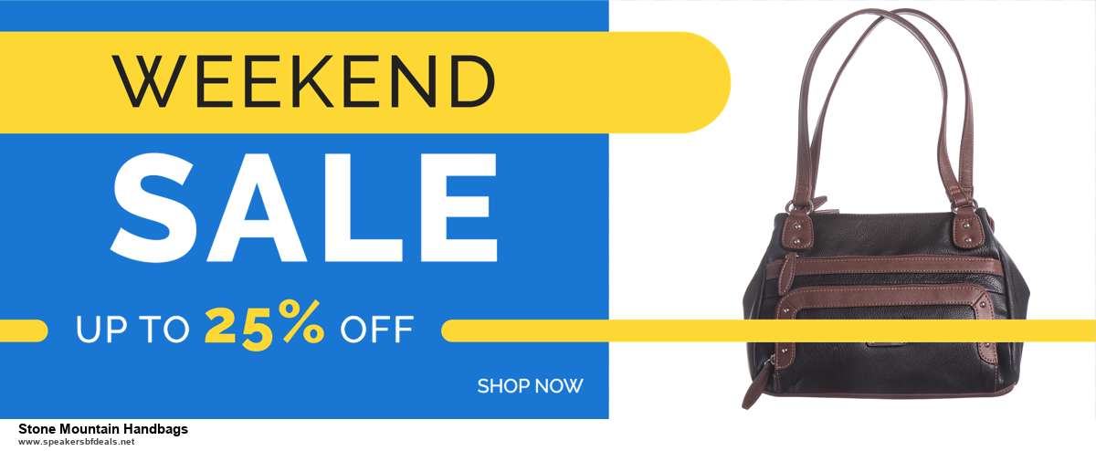 Grab 10 Best Black Friday and Cyber Monday Stone Mountain Handbags Deals & Sales