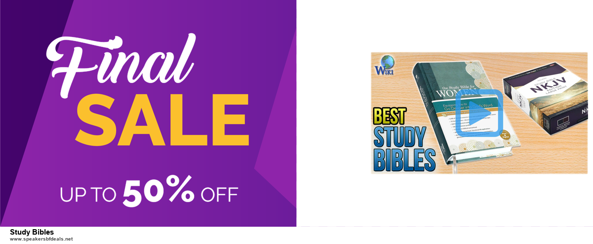 Grab 10 Best Black Friday and Cyber Monday Study Bibles Deals & Sales