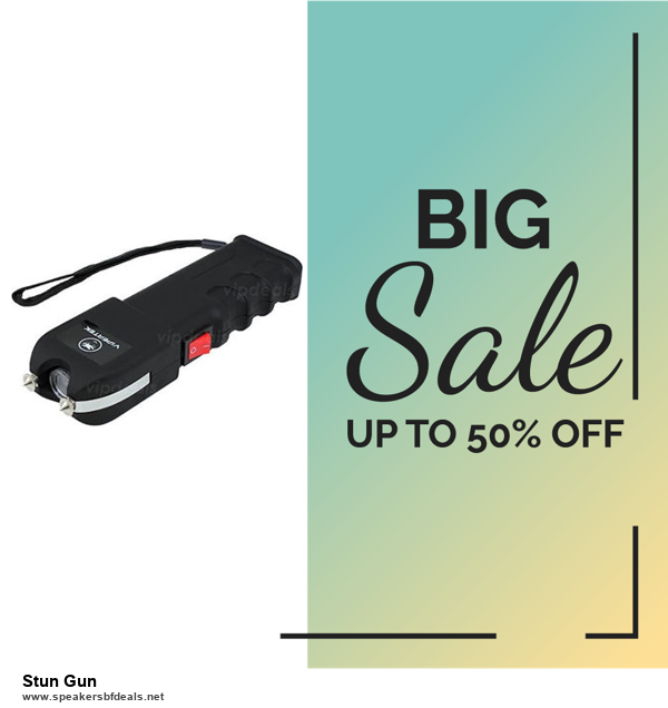 5 Best Stun Gun Black Friday 2020 and Cyber Monday Deals & Sales