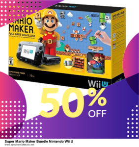 13 Exclusive After Christmas Deals Super Mario Maker Bundle Nintendo Wii U Deals 2020
