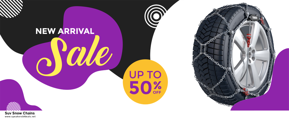 Grab 10 Best Black Friday and Cyber Monday Suv Snow Chains Deals & Sales